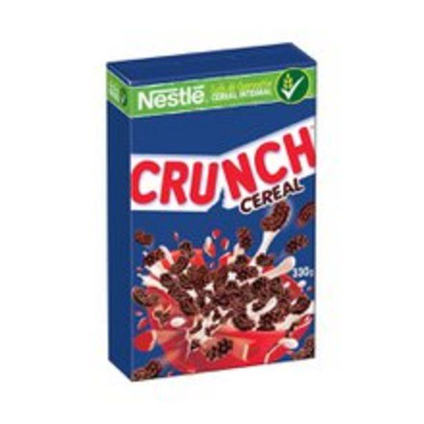 Oferta de Cereal Matinal Nestlé Crunch 330g por R$14,98