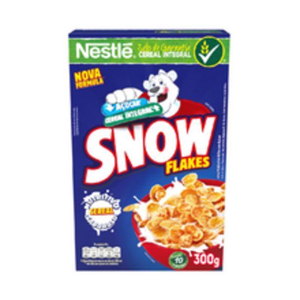 Oferta de Cereal Matinal Snow Flakes 300g por R$6,89