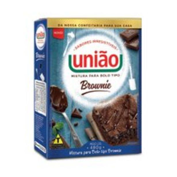 Oferta de Mistura Para Bolo União Brownie 480g por R$4,69
