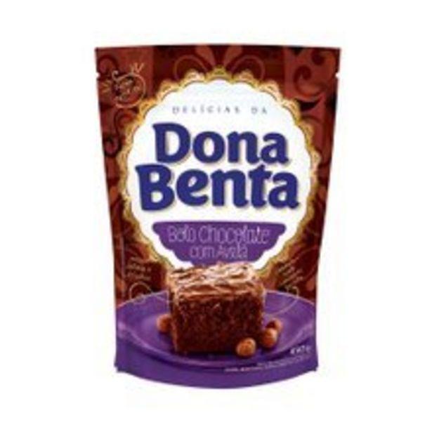 Oferta de Mistura Para Bolo Dona Benta Chocolate Com Avelã 450g por R$5,59