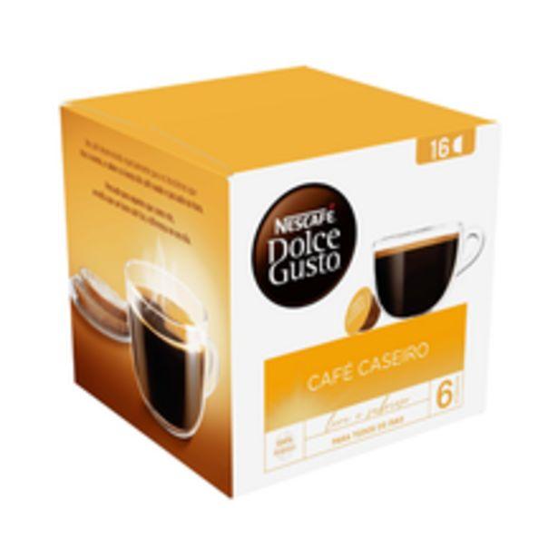 Oferta de Cápsula Dolce Gusto Com 16 Café Caseiro 128g por R$22,9