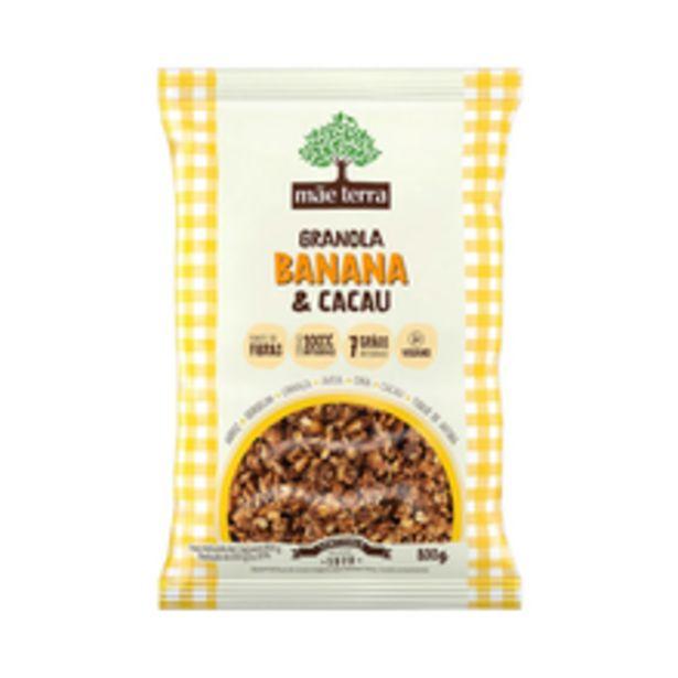 Oferta de Granola Mãe Terra Banana/Cacau 800g por R$26,99