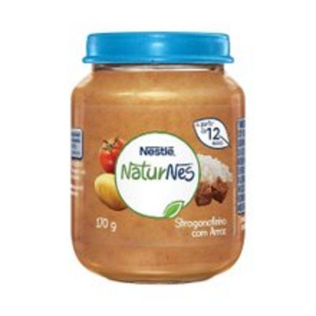 Oferta de Papinha Naturnes Nestlé Strogonofinho com Arroz 170g por R$4,99