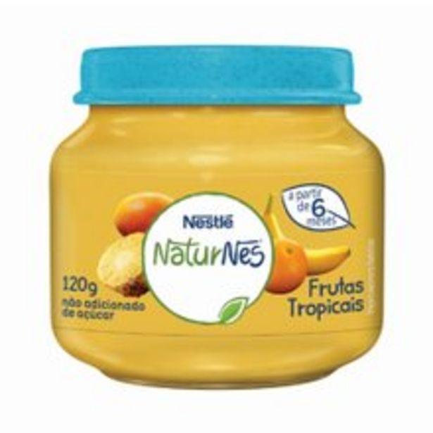 Oferta de Papinha Naturnes Nestlé Frutas Tropicais 120g por R$3,99
