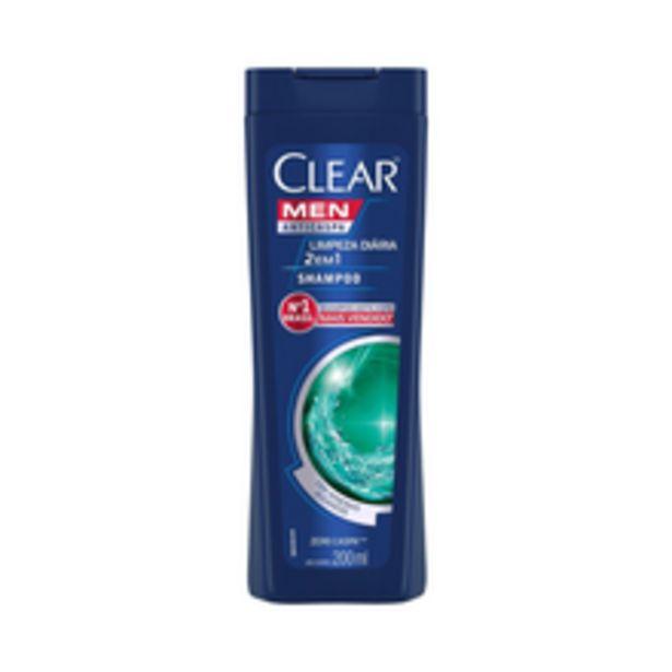 Oferta de Shampoo Anticaspa Clear Limpeza Diária 2 Em 1 200ml por R$15,9