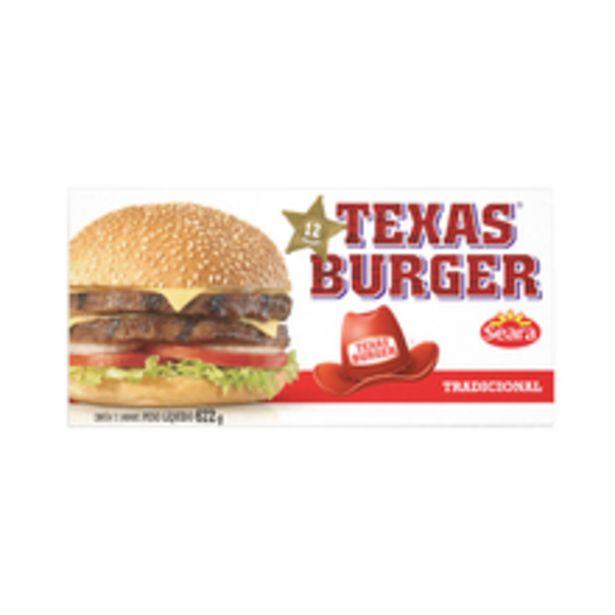 Oferta de Hambúrguer Misto Texas Burguer 672g por R$18,98