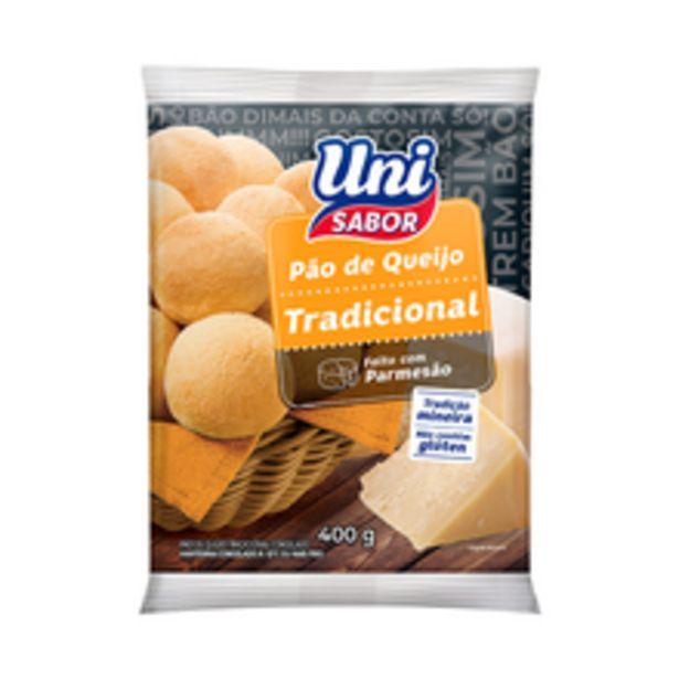 Oferta de Pão de Queijo Uni Sabor Tradicional 400g por R$5,99