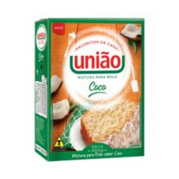 Oferta de Mistura Para Bolo União Coco 400g por R$4,49