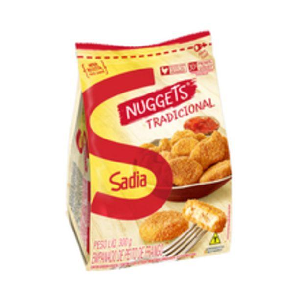 Oferta de Nuggets de Frango Sadia 300g por R$10,98