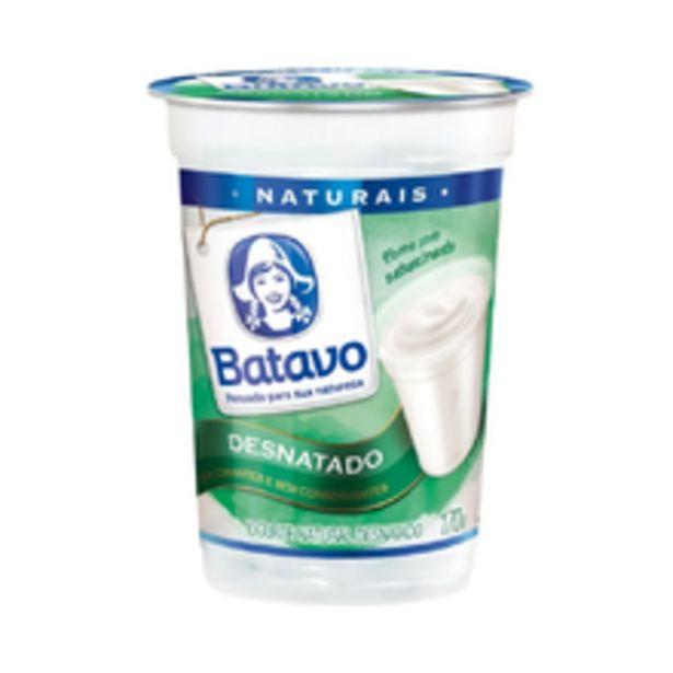 Oferta de Iogurte Natural Batavo Desnatado 170g por R$2,19