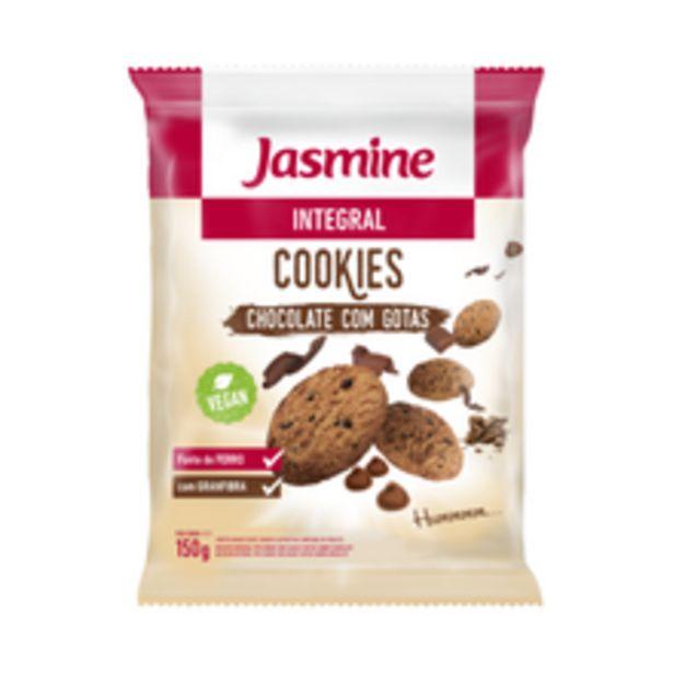 Oferta de Cookies Jasmine Integral Chocolate 150g por R$7,2