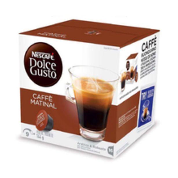 Oferta de Cápsula Dolce Gusto Caffè Matinal 144g Com 16 Unidades por R$22,9