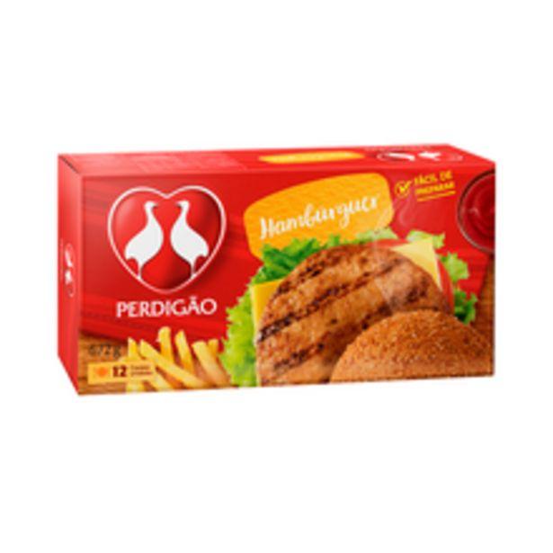 Oferta de Hambúrguer Bovino Perdigão 672g por R$16,98