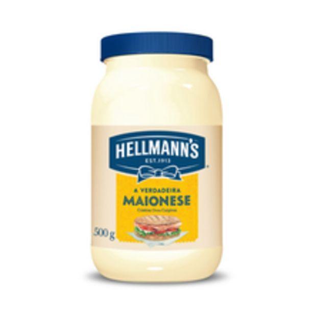 Oferta de Maionese Hellmann'S Tradicional 500g por R$6,59