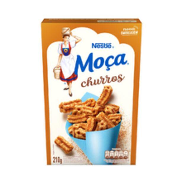 Oferta de Cereal Matinal Moça Churros 210g por R$9,97