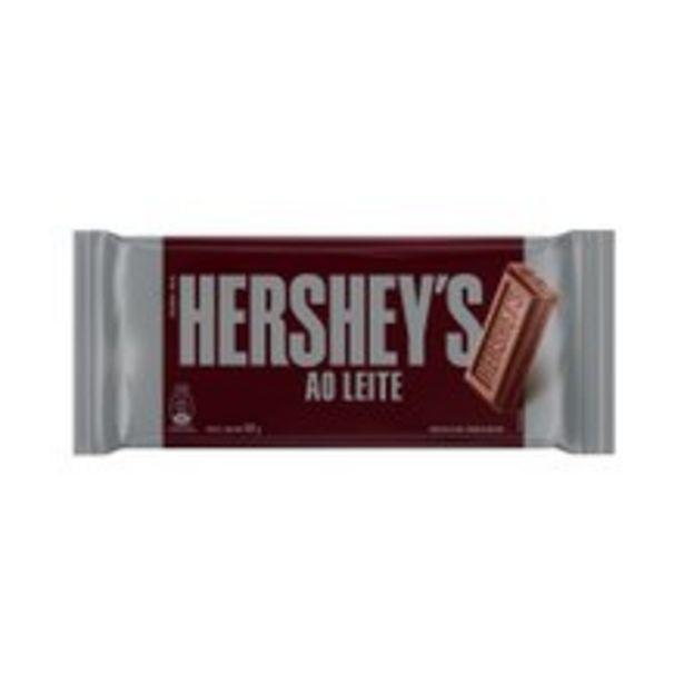 Oferta de Chocolate Hershey's Ao Leite 92g por R$4,39