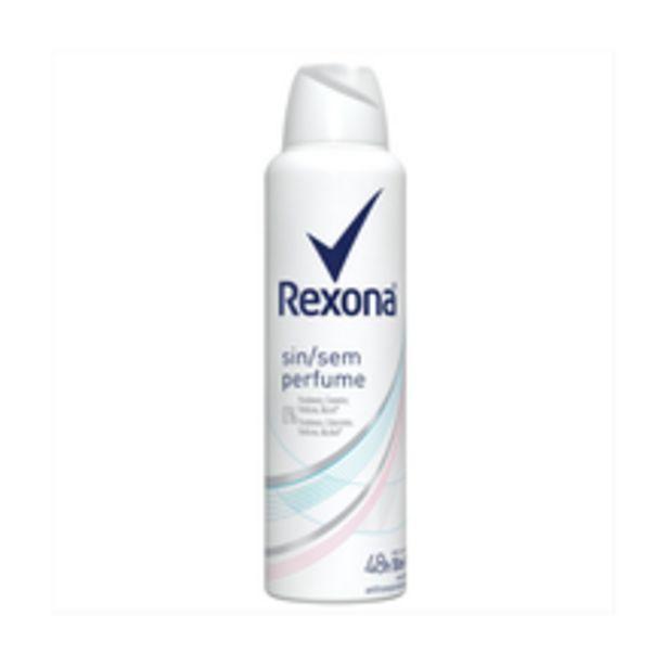 Oferta de Desodorante Antitranspirante Rexona Sem Perfume 150ml por R$12,89