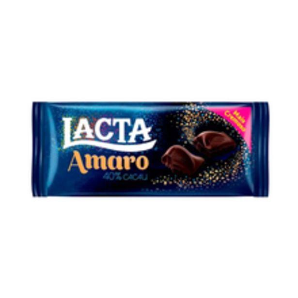 Oferta de Chocolate Lacta Amargo 90g por R$4,89