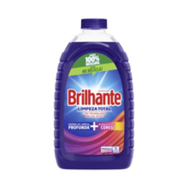 Oferta de Lava Roupas Líquido Brilhante Limpeza Total 3l por R$30,59