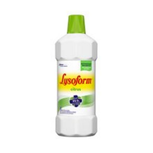 Oferta de Desinfetante Lysoform Citrus 1l por R$7,69