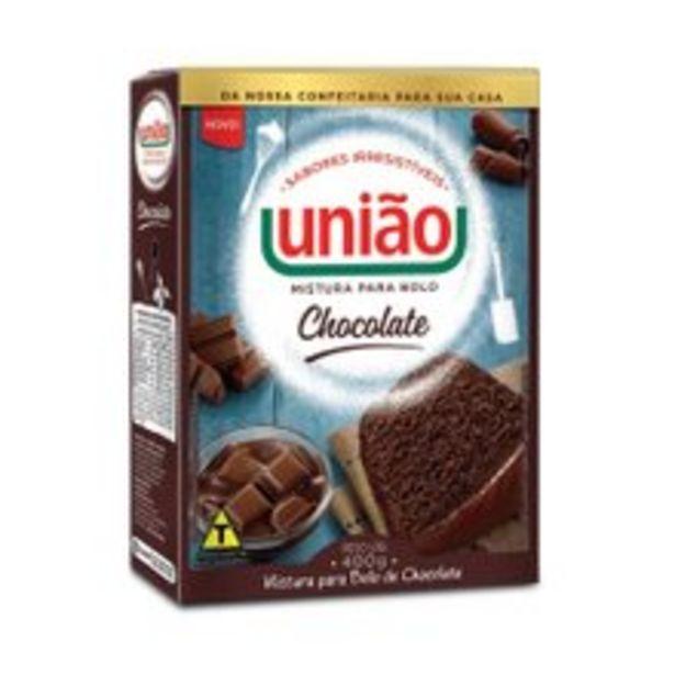 Oferta de Mistura Para Bolo União Chocolate 400g por R$4,99