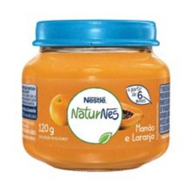 Oferta de Papinha Naturnes Nestlé Mamão Com Laranja 120g por R$3,99