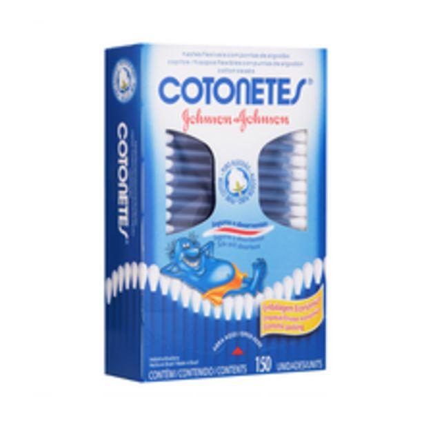 Oferta de Haste Flexível Cotonetes Com 150 Unidades por R$6,49