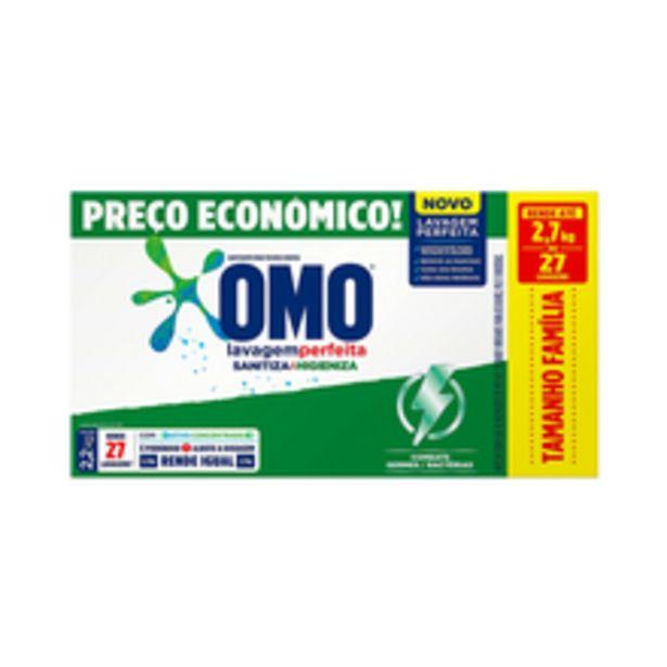 Oferta de Sanitizante Em Pó Omo Lavagem Perfeita 2,2kg por R$21,99