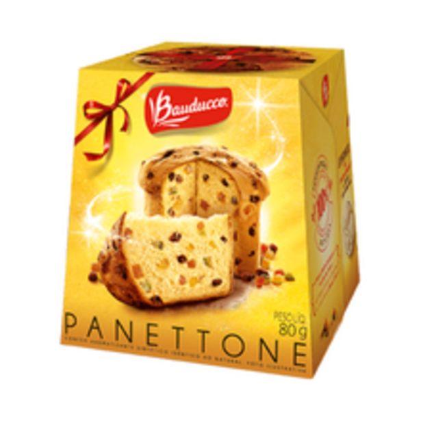 Oferta de Mini Panettone Bauducco 80g por R$8,23
