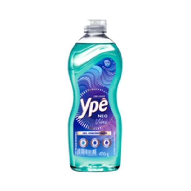 Oferta de Detergente Gel Ypê Capim/Limão 416g por R$4,29