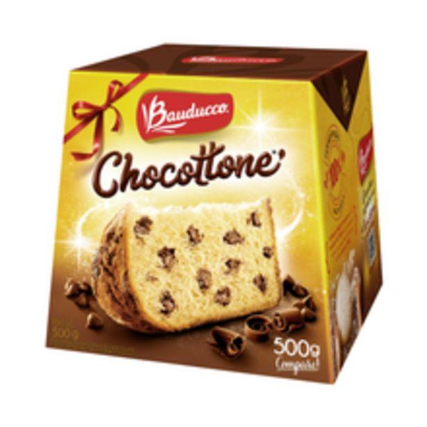 Oferta de Chocottone Bauducco 500g por R$20,59