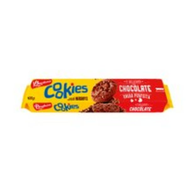 Oferta de Cookies Bauducco Chocolate 100g por R$2,98