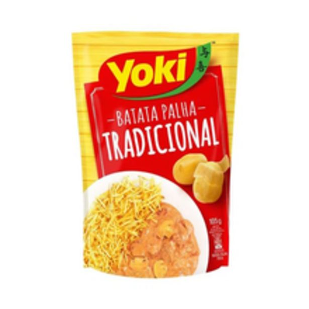Oferta de Batata Palha Yoki Tradicional 105g por R$5,69