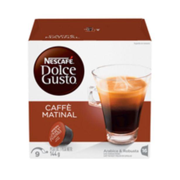 Oferta de Cápsula Dolce Gusto Caffè Matinal 144g Com 16 Unidades por R$25,98