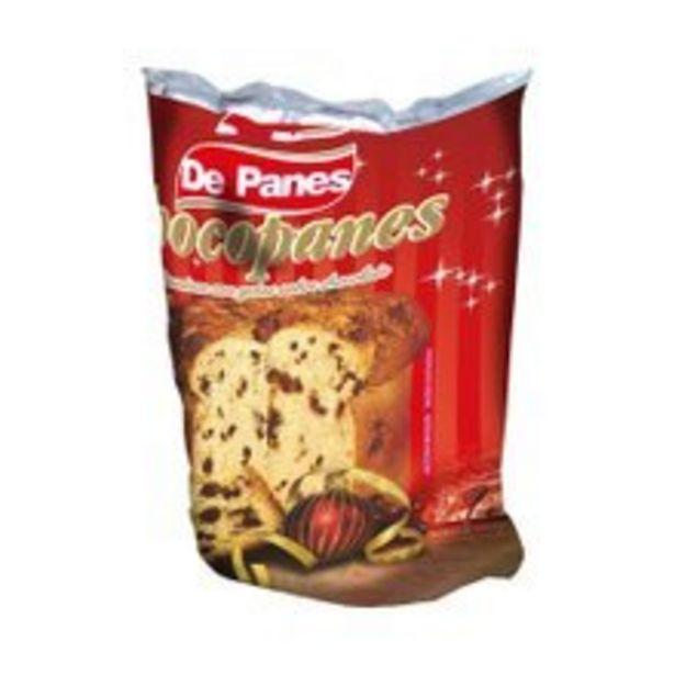 Oferta de Panettone De Panes Com Gotas De Chocolate 400g por R$4,49
