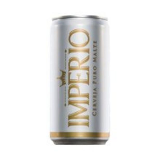 Oferta de Cerveja Império Pilsen 350ml por R$2,49