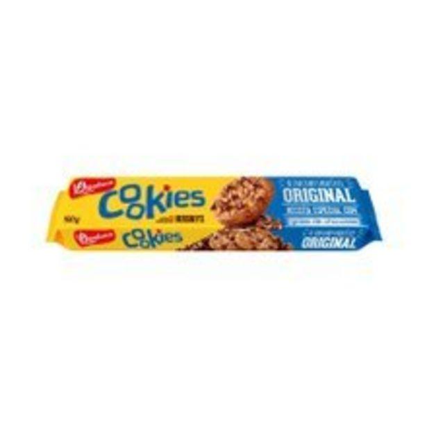 Oferta de Cookies Bauducco Original 100g por R$2,98
