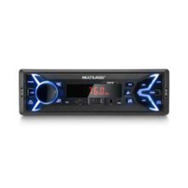 Oferta de Rádio Portátil Multilaser Pop Mp3 P3335 por R$101,9