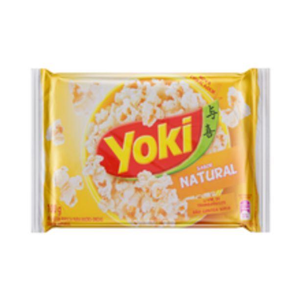 Oferta de Pipoca Para Microondas Yoki Natural 100g por R$2,69