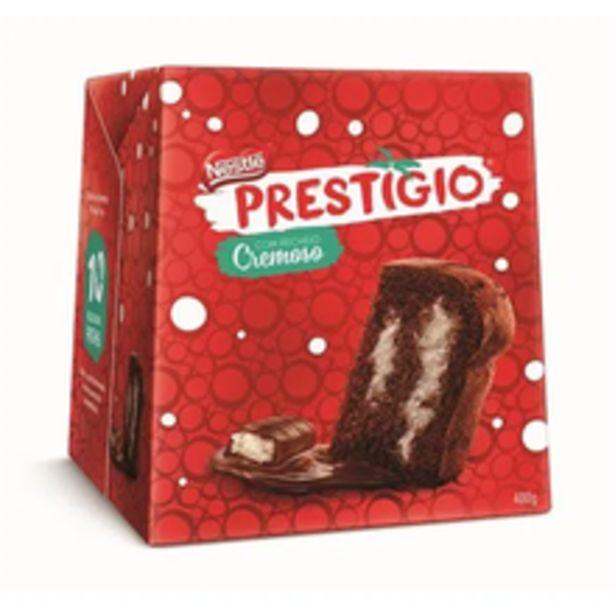 Oferta de Panettone Nestlé Prestígio 400g por R$37,07