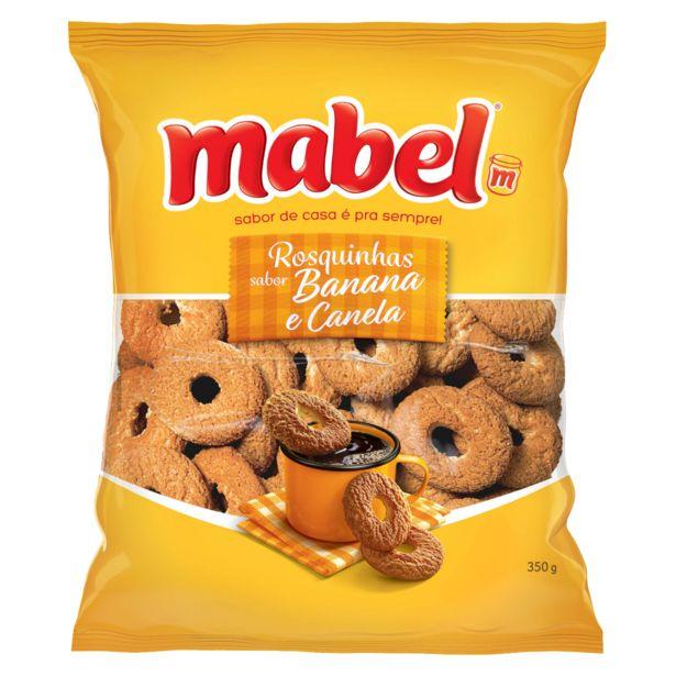 Oferta de Rosquinha Mabel 350 G Banana/Canela por R$3,69