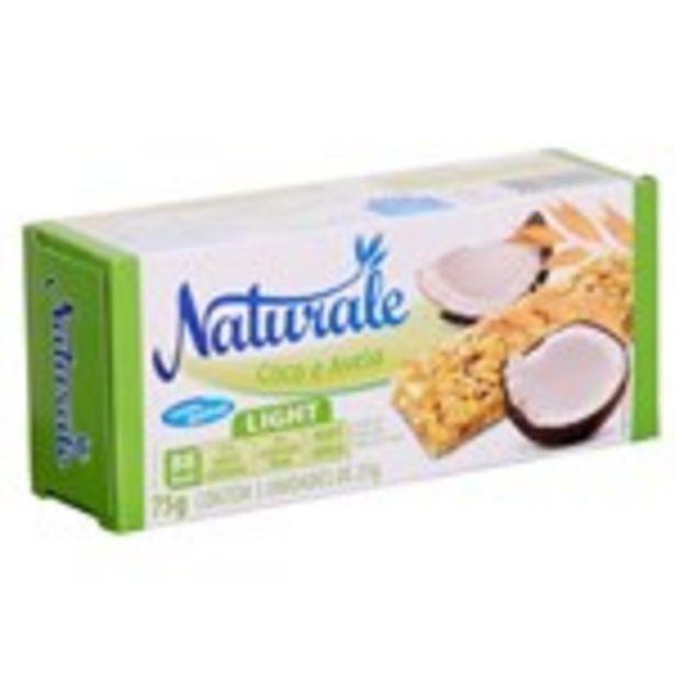 Oferta de Barra de Cereal Naturale Light Coco e Aveia Embalagem 75G por R$1,99