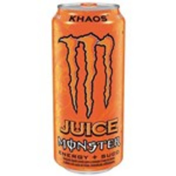 Oferta de Energético Monster Khaos Lata 473Ml por R$5,99