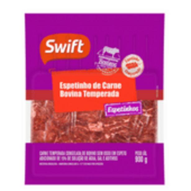 Oferta de Espetinho Bovino Swift 900g por R$38,96