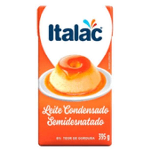Oferta de Leite Condensado Italac Semidesnatado Tetra Pak 395g por R$3,99