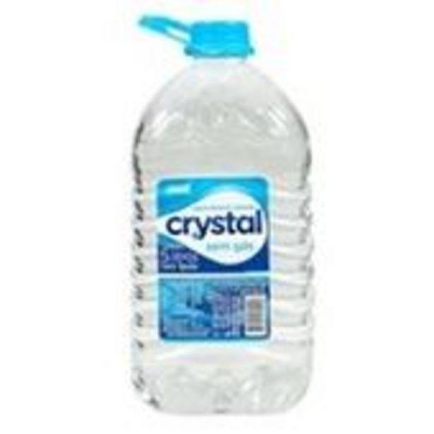 Oferta de Água Mineral Sem Gás Crystal 5l por R$8,79