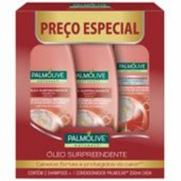 Oferta de 2 Shamp+1 Cond Palmolive 350ml Oleo Surpreend por R$22,69