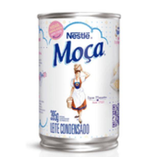 Oferta de Leite Condensado Moça Nestlé Tradicional Lata 395g por R$6,39
