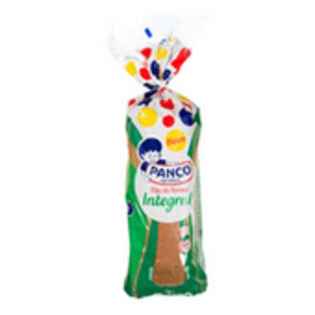 Oferta de Pão De Forma Integral Panco Fonte De Fibras 500g por R$6,29