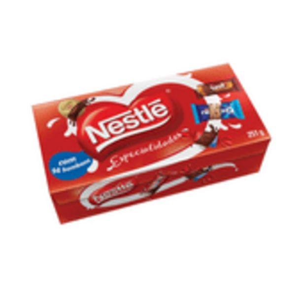 Oferta de Bombom Nestle Especialidades 251g por R$9,45